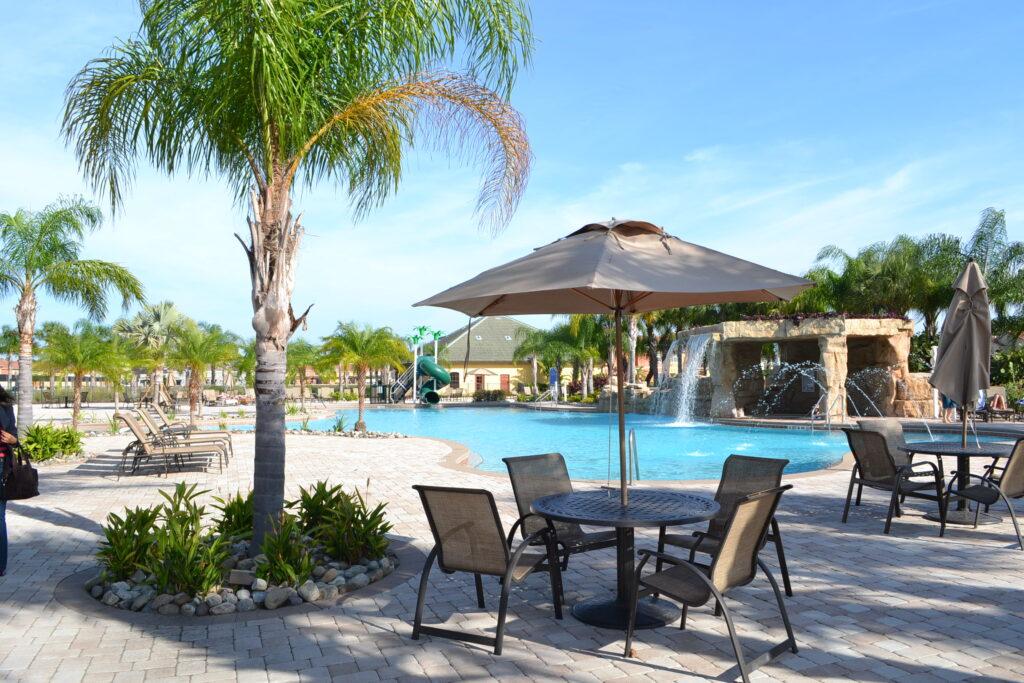 Casa vacacional modelo en Paradise Palms. Foto Gregorio Mayi.