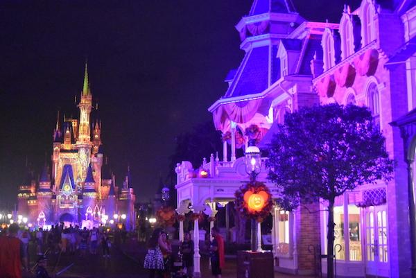 Halloween en Disney. Foto Gregorio Mayí.